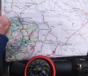 Mapa turístico Navarra