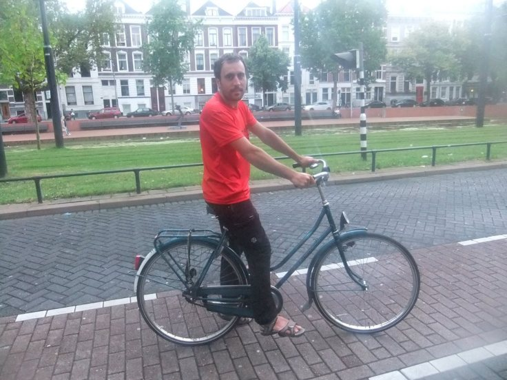 Han's bike in Rotterdam