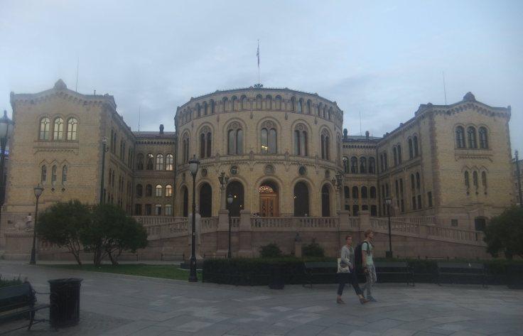 Oslo's Parlamient building