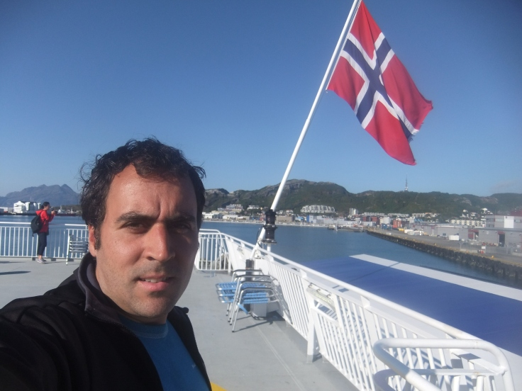 Ferry to Lofoten