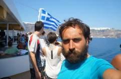 Ferry Santorini-Paros