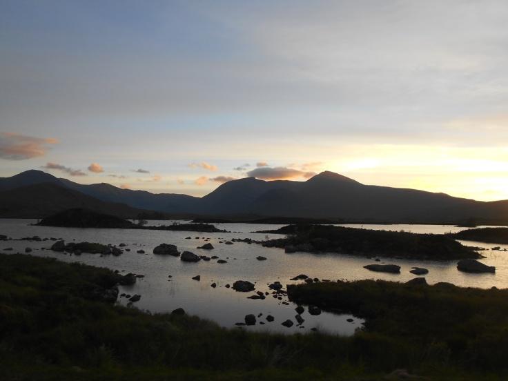 Paisaje de las Highlands, Escocia