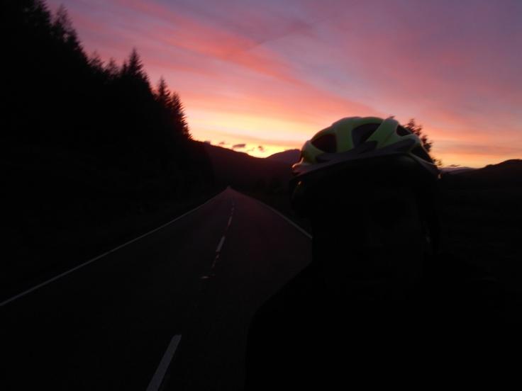 Scotland dusk